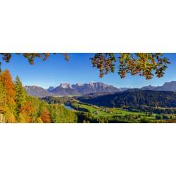 Gerold - Karwendel - Herbst - Bergpanorama