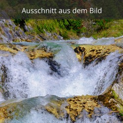 Wasserfall oben