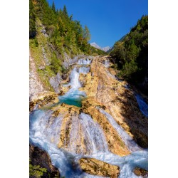 Wasserfall im Karwendeltal