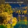 Eibsee Ufer im Herbst, Blick zur Wasserwacht
