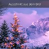 Christbaum am Weihnachtsmorgen