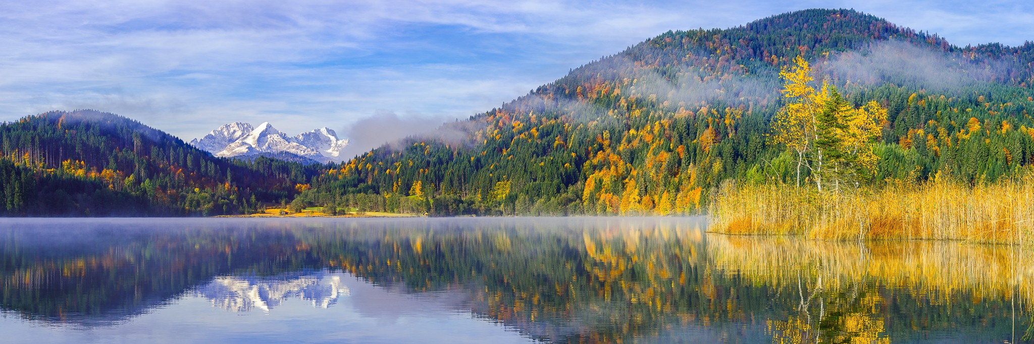 Barmsee-Herbst-Farbenpracht