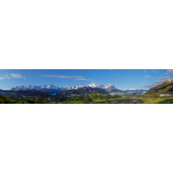 Garmisch-Partenkirchen classic Bergpanorama
