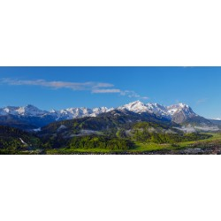 Garmisch-Partenkirchen - Panorama - Alpspitze - Zugspitze