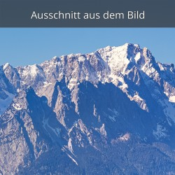 Waxenstein und Zugspitze
