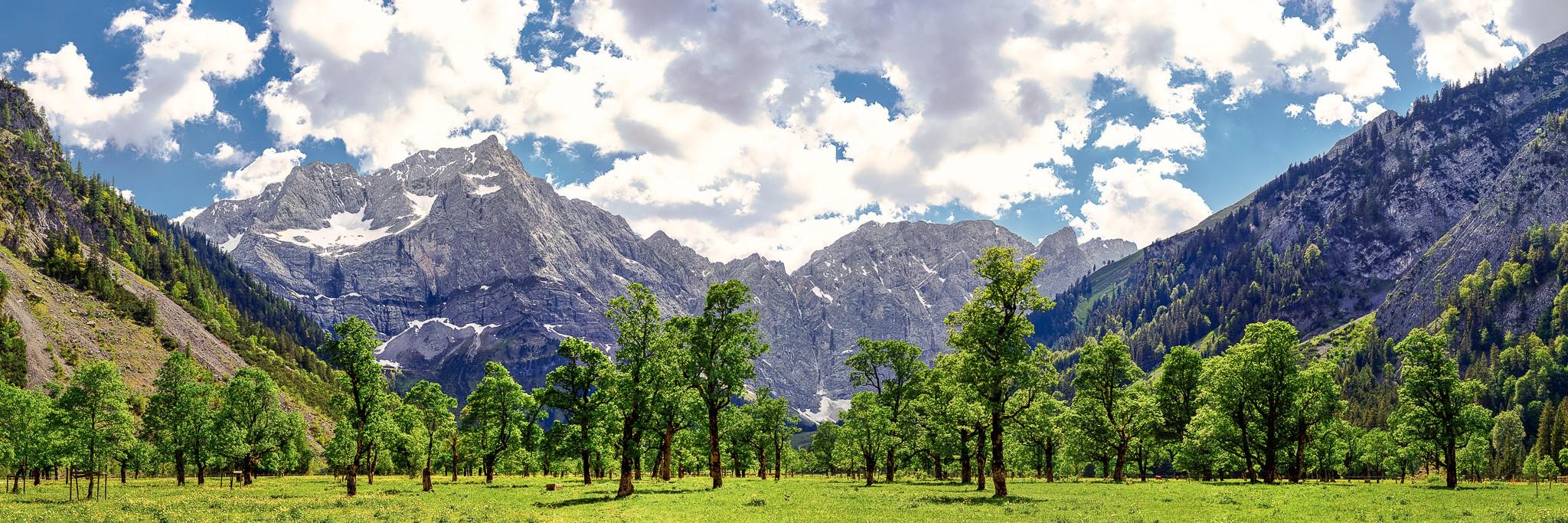 Engalm - Großer Ahornboden im Karwendel