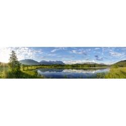 Barmsee Panorama Landschaft