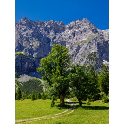 Kleiner Ahornboden - Weg zum Karwendelhaus