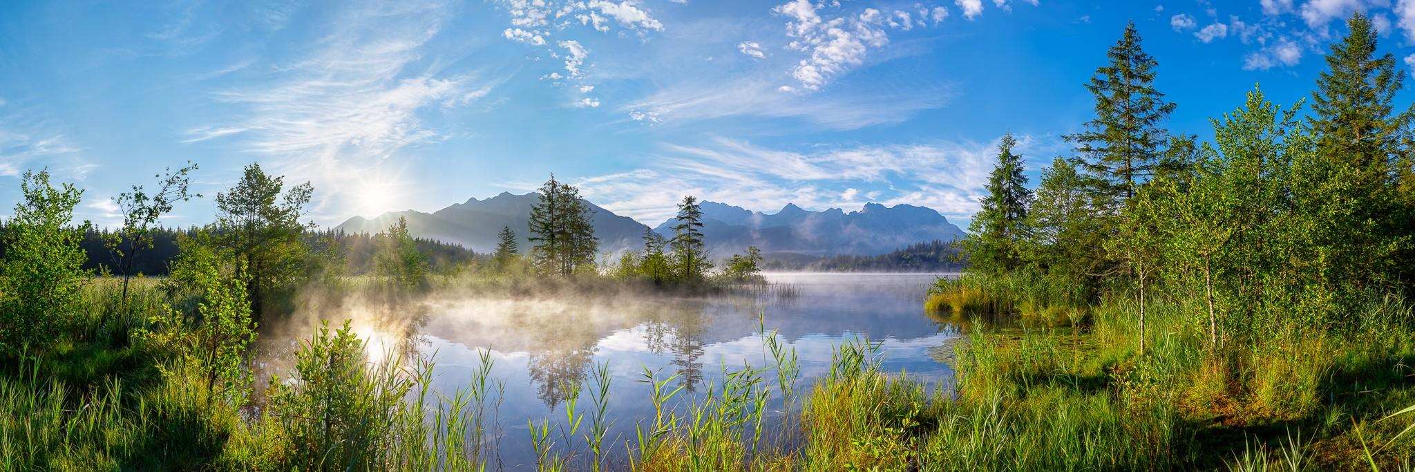 Barmsee am Morgen - Alpenwelt Karwendel