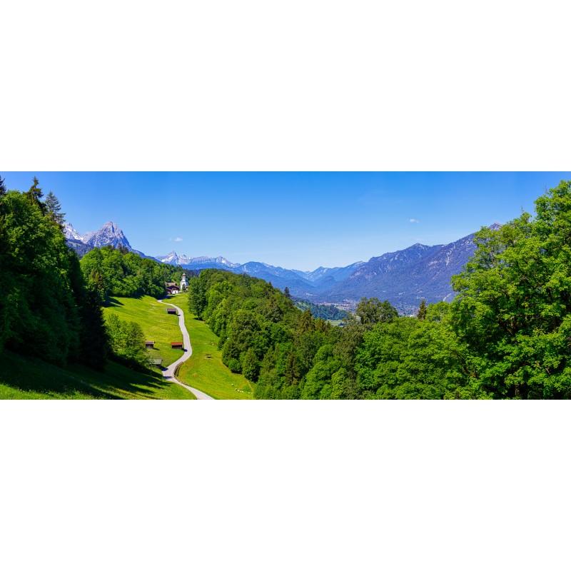 Wamberg - Berglandschaft um Garmisch-Partenkirchen