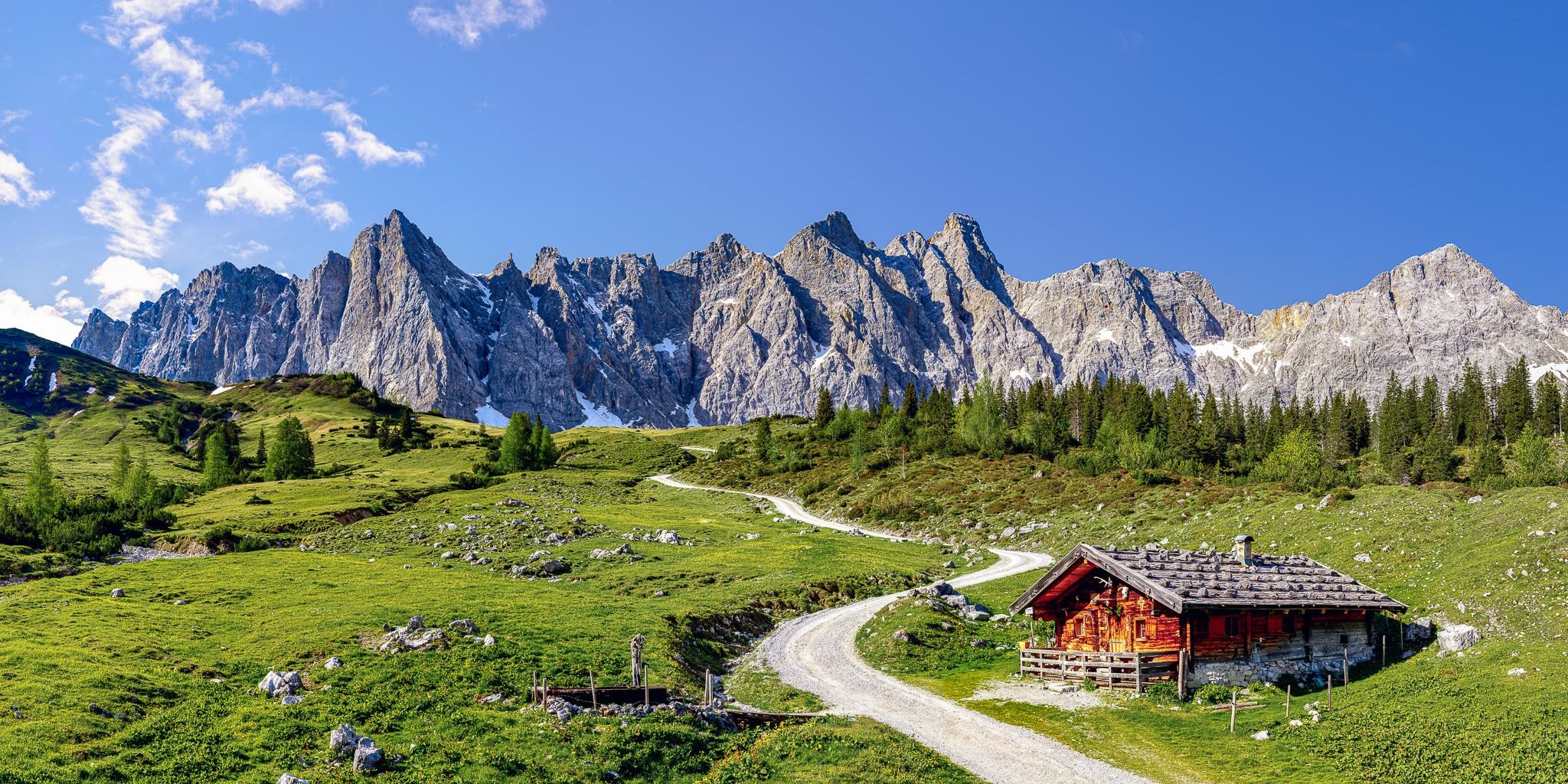 Karwendel - über die Ladizalm zur Falkenhütte