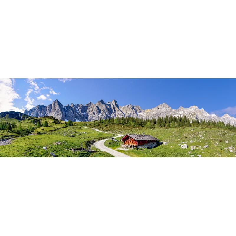 Karwendelhauptkamm - Panorama - Ladiz-Alm