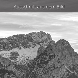 Zugspitze mit Höllentalferner und Waxenstein