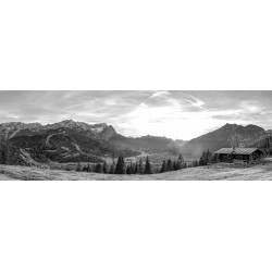 Eckenhütte - Blick über Garmisch-Partenkirchen