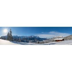 Winterlandschaft in Garmisch-Partenkirchen - Eckenhütte