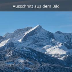 Alpspitze im Winter