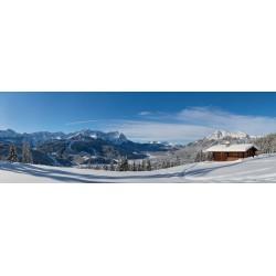 Winterlandschaft in Garmisch-Partenkirchen