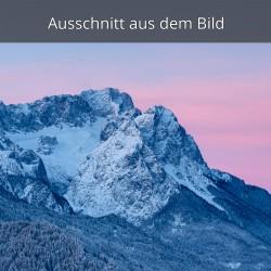 Zugspitze und Waxenstein - Winterlandschaft