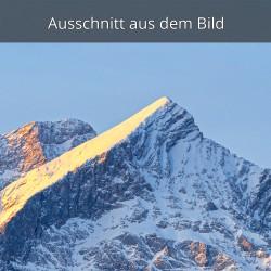 Alpspitze im Winter Sonnenaufgang