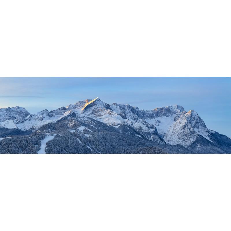 Zugspitze und Alpspitze im Winter
