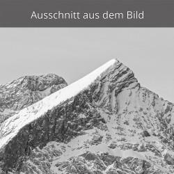 Alpspitze schwarz weiß