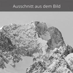 Zugspitze schwarz weiß