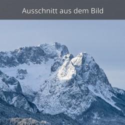 Zugspitzblick im Winter