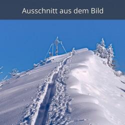Farchanter Kreuz, Winter Berggipfel Skitour, Garmisch-Partenkirchen