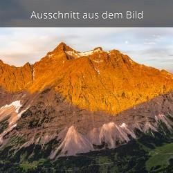 Birkarspitze Morgenrot