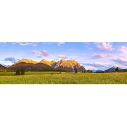 Sommerabend in der Alpenwelt Karwendel Panorama
