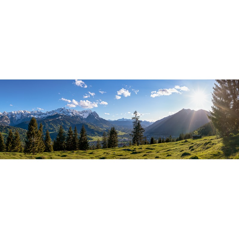 Garmisch-Partenkirchen Bergblick Eckenhütte