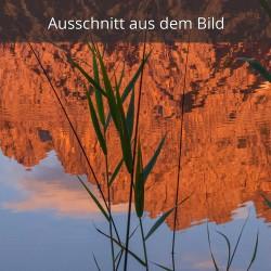 Spiegelung Karwendelspitze