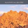 Alpenglühen Westliche Karwendelspitze