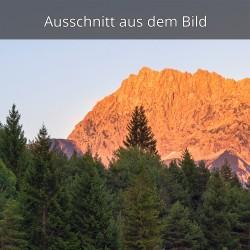 Alpenglühen Hoher Wörner