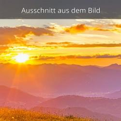 Sonnenuntergang über Garmisch-Partenkirchen