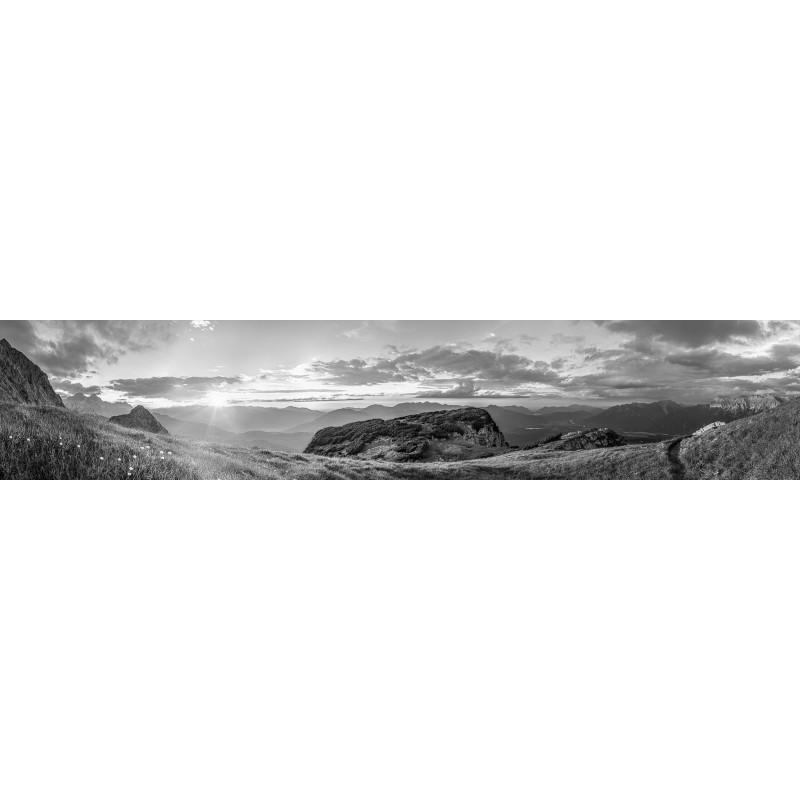 Blick vom Wetterstein - Gamsanger