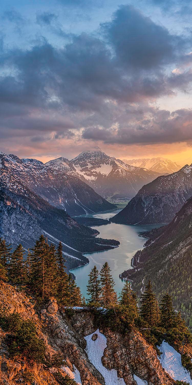 Plansee mit Thaneller - Lechtaler Alpen