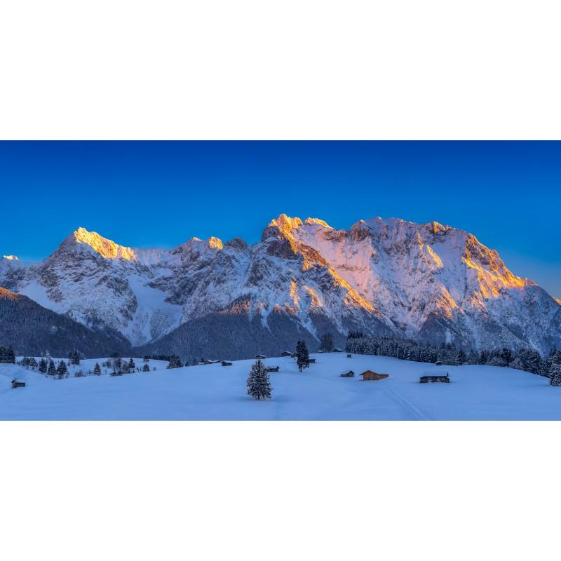 Karwendel - Buckelwiesen im Winter