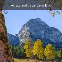 "Rosskopfspitze am ""Großen Ahornboden"""