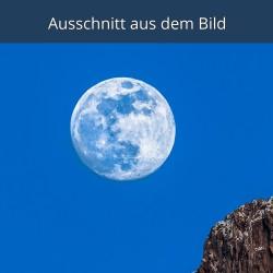 Vollmond / Blaue Stunde