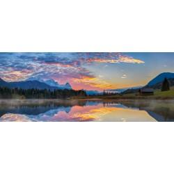 Geroldsee - Wolkenstimmung Panorama