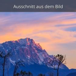 Zugspitze - Abendrot