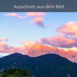 Alpenglühn - Abendrot Hoher Wörner