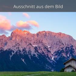 Alpenglühn Westliche Karwendelspitze