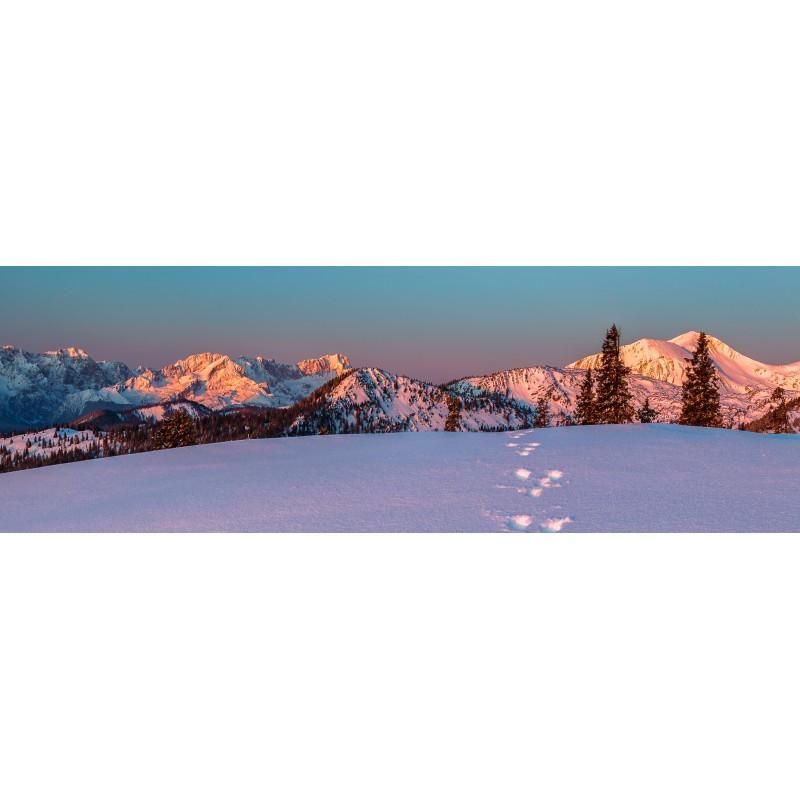 Hasenspur - Winter - Bergpanorama