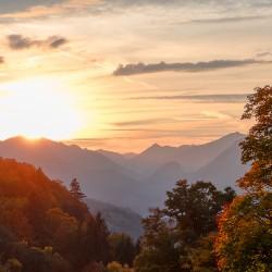 Sonnenuntergang Garmisch-Partenkirchen