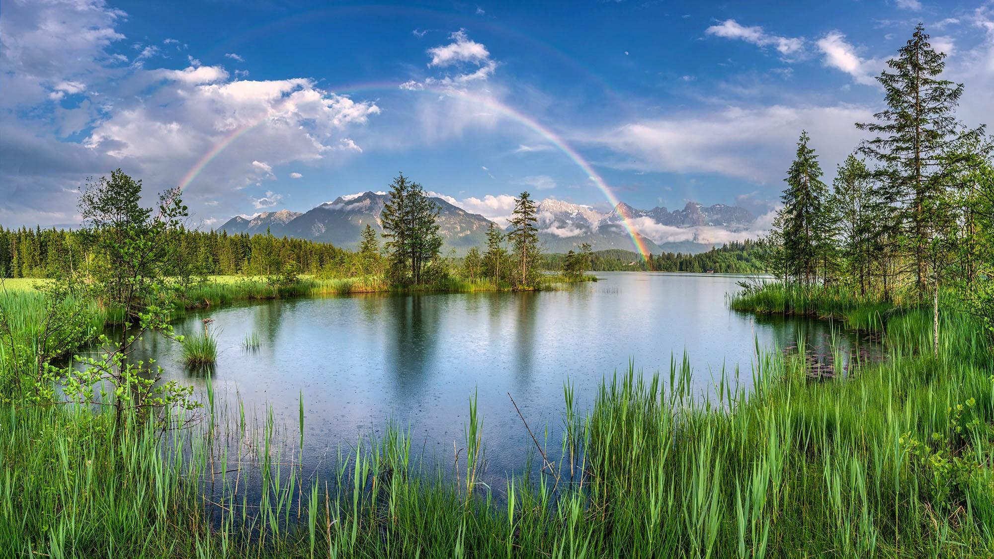 Barmsee Regenbogen