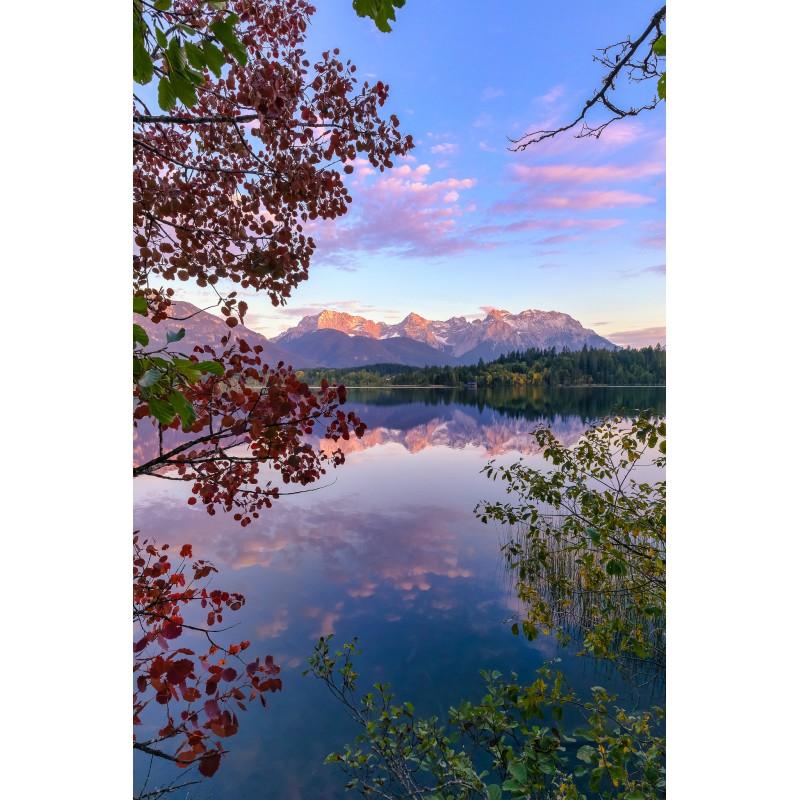 Barmsee - Karwendelblick - Herbstabend