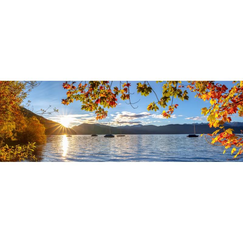 Walchensee-Sonnenaufgang-Herbst