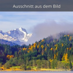 Zugspitze schneebedeckt